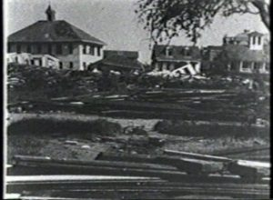 Galveston Hurricane of 1900 - Panorama of East Galveston