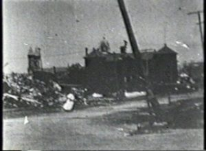 Galveston Hurricane of 1900 - Panorama of Galveston Power House