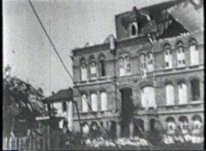 Galveston Hurricane of 1900 - Panorama of Orphans Home, Galveston